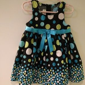 Ashley Ann Polka Dot Dress